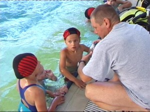 nurkowanie dzieci